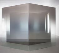 Larry Bell <br/>&#8216;2D-3D: Glass &#038; Vapor&#8217;