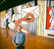 'Roy Lichtenstein's Green Street Mural'