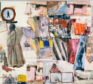 Robert Rauschenberg<br/>&#8216;Anagrams, Arcadian Retreats, Anagrams (A Pun)&#8217;