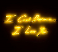 Tracey Emin<br/>&#8216;I Cried Because I Love You&#8217;