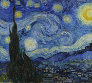Vincent Van Gogh<br/>&#8216;The Starry Night&#8217;