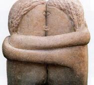 Constantin Brancusi<br/>&#8216;The Kiss&#8217;