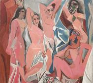 Pablo Picasso<br/>&#8216;Les Demoiselles d&#8217;Avignon&#8217;