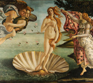 Sandro Botticelli<br/>&#8216;The Birth of Venus&#8217;