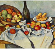 Paul Cézanne<br/>&#8216;Still Life with Apple&#8217;