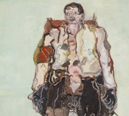 Georg Baselitz<br/>&#8216;The Heroes&#8217;