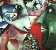 Marc Chagall<br/>&#8216;I and the Village&#8217;