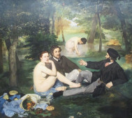 Edouard Manet<br/>&#8216;Le déjeuner sur l&#8217;herbe&#8217;