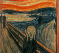Edvard Munch<br/>&#8216;The Scream&#8217;
