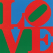 Wertical-Robert Indiana, LOVE, 1968. Aluminum. Whitney Museum of American Art, New York; Purchase, with funds from the Howard and Jean Lipman Foundation, Inc.  68.71