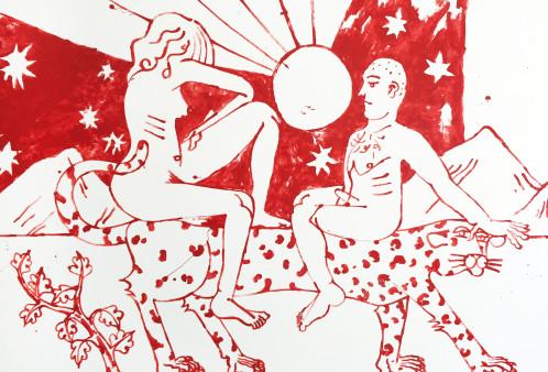 David Schiesser, 'Beeing sexy in Africa', 2015