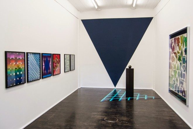 Jens Schubert, Ausstellungsansicht_THE_FOUNDATION_OF_POWER_Galerie_Pfab_2014