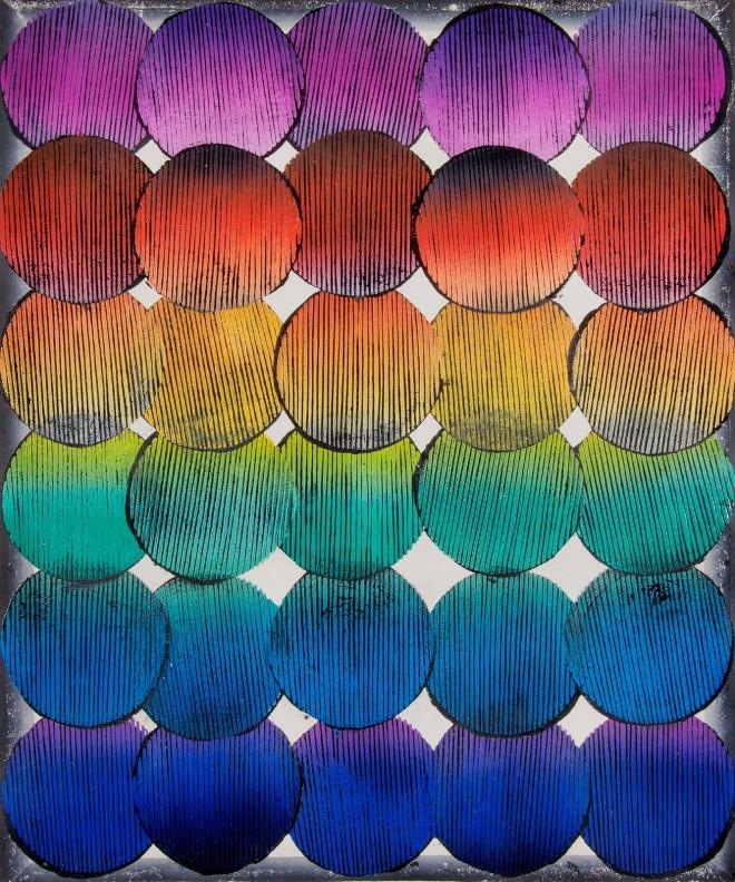 Jens Schubert, Formosus_60x50cm_Linoldruck_2014