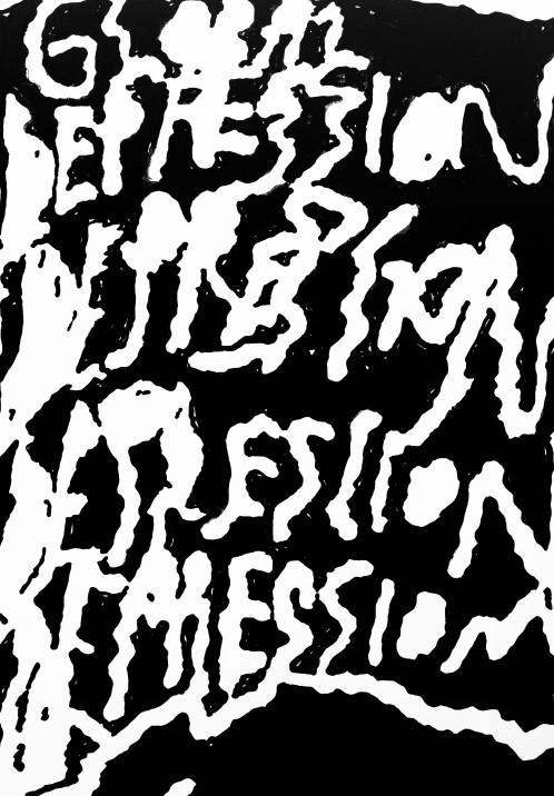 Marx_GlobalDepression_200x140_AcrylOnCanvas