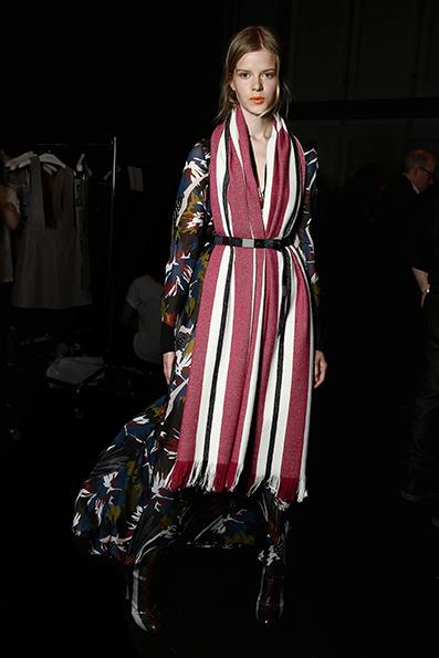 Dorothee Schumacher Backstage - Mercedes-Benz Fashion Week Berlin Autumn/Winter 2016