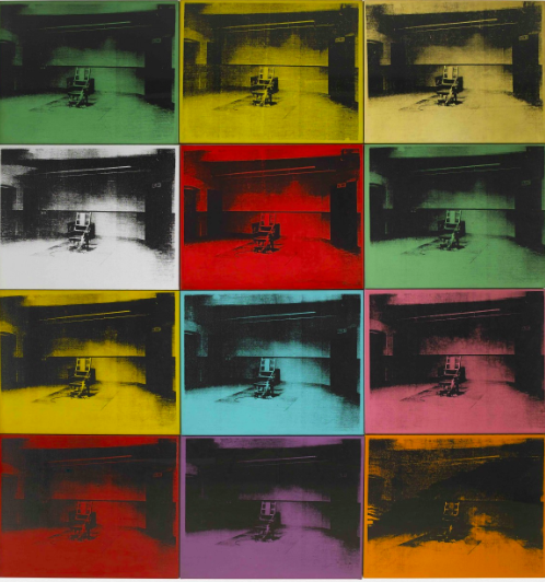 Andy Warhol Little Electric Chairs Wertical
