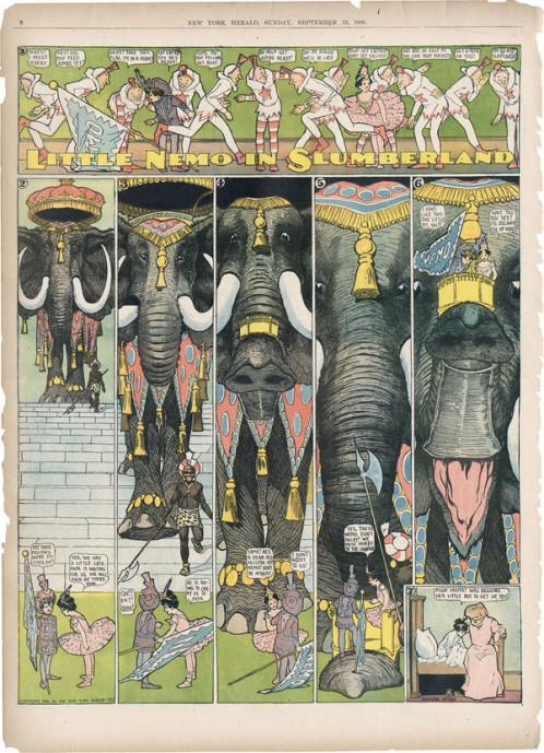 csm_Schirn_Presse_Comic_McCay_Littel_Nemo_1906_09_23_Elefant_d00eafc314