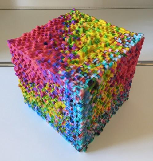 Mark Bern - Pixel Cube IV